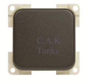 CBE SINGLE ON OFF PADDLE ROCKER  SWITCH GREY